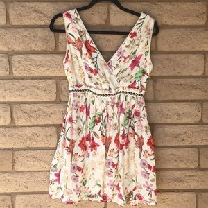 Anthropologie Floral Dress by Willow & Clay